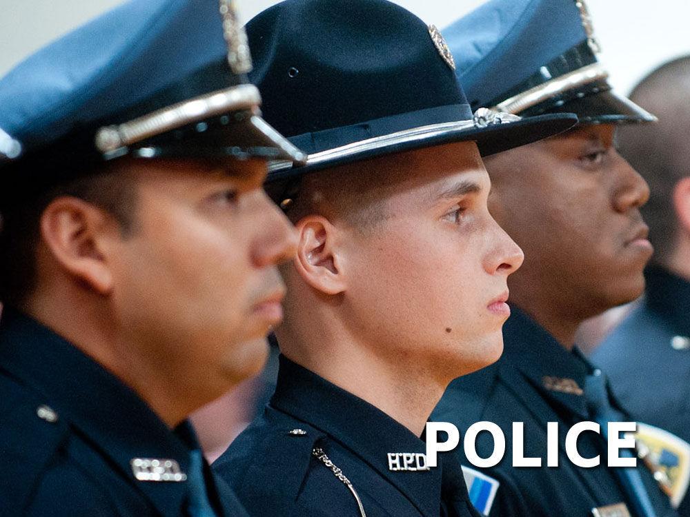 Generic police line logo