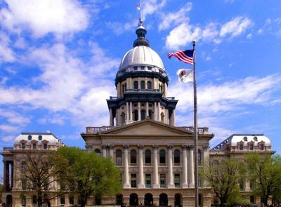Illinois Statehouse Stock