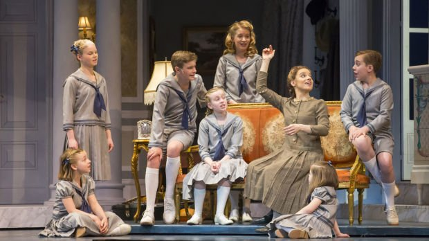 """Actress Jenn Gambatese Stars as Maria with a Host of Local Talent as the von Trapp Children in Lyric Opera of Chicago's """"The Sound of Music"""""""