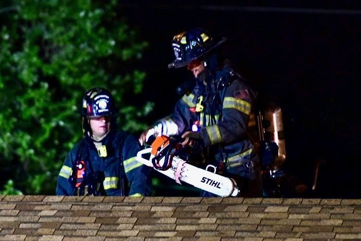 Fire damages Griffith home