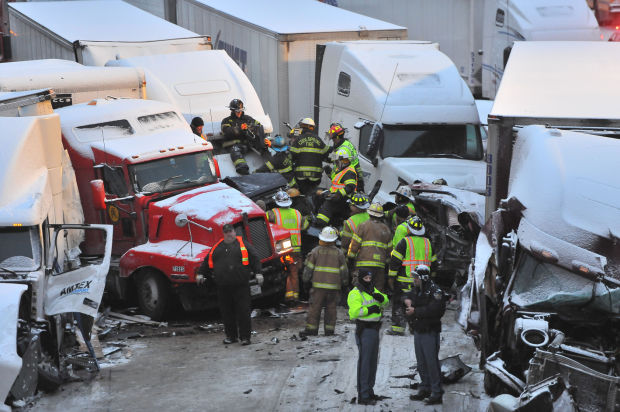 3 dead in multivehicle crash on I-94 near Michigan City