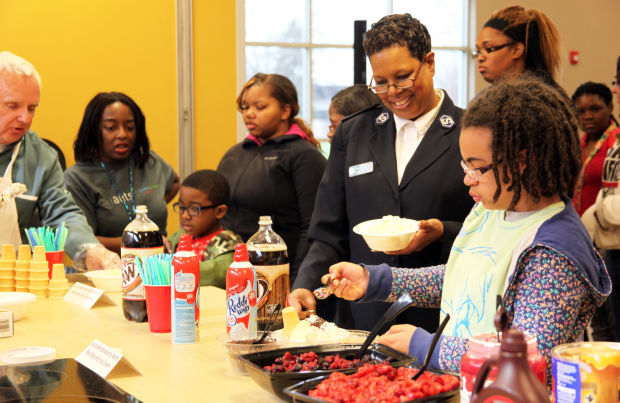 Salvation Army celebrates volunteers with ice cream social