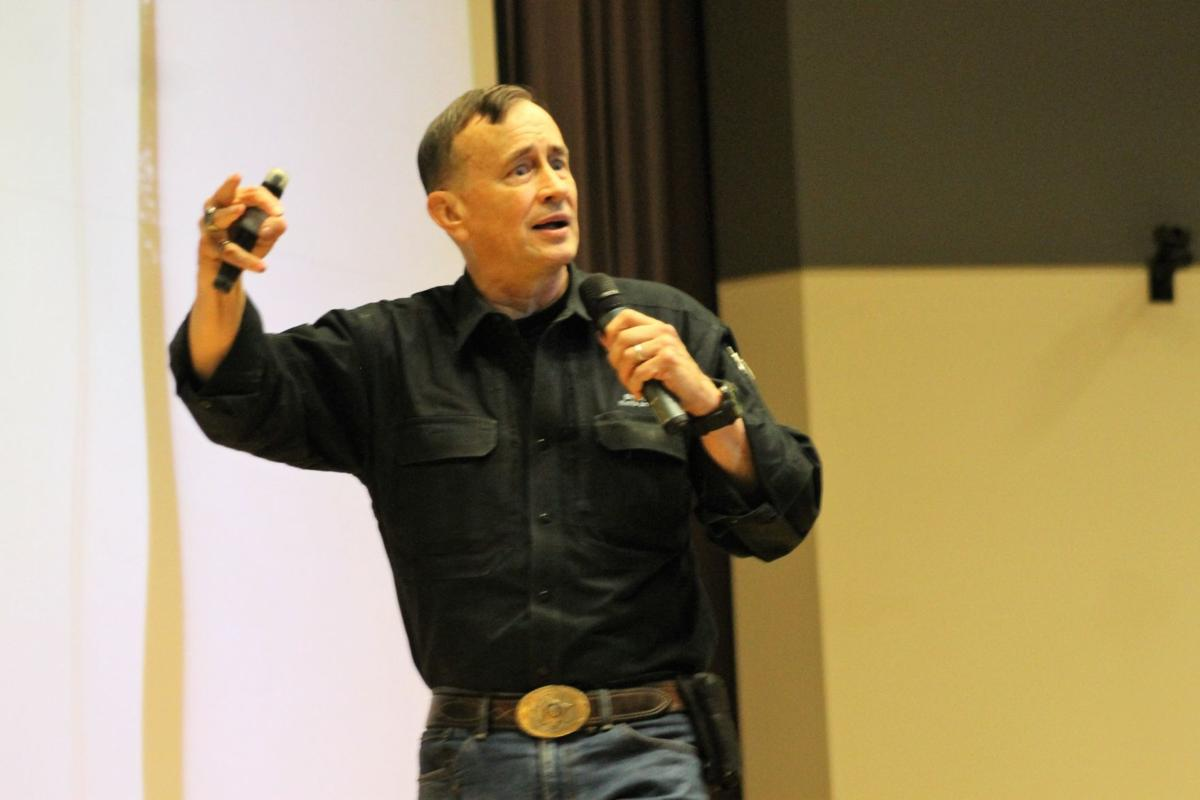 'Never lose your sense of outrage' school safety speaker implores in Porter County training