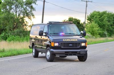 Lake County coroner's van stock