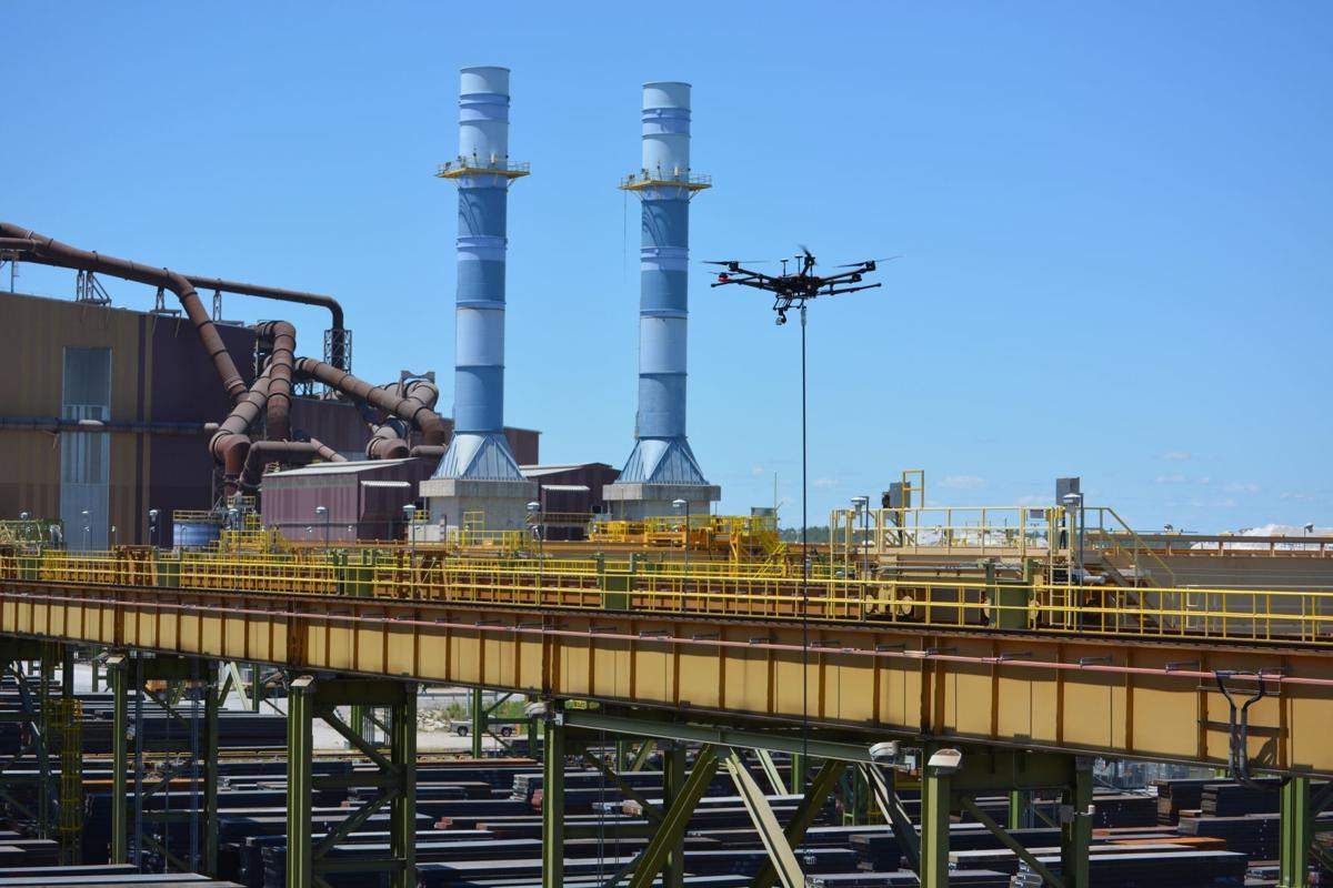 Drones take flight along Region's industrial lakeshore