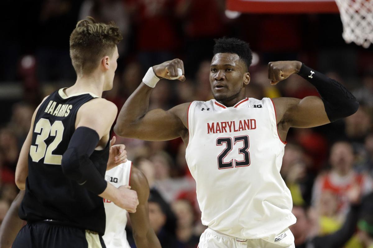 APTOPIX Purdue Maryland Basketball