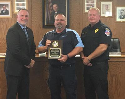 Indiana D.A.R.E. names Benson officer of the year
