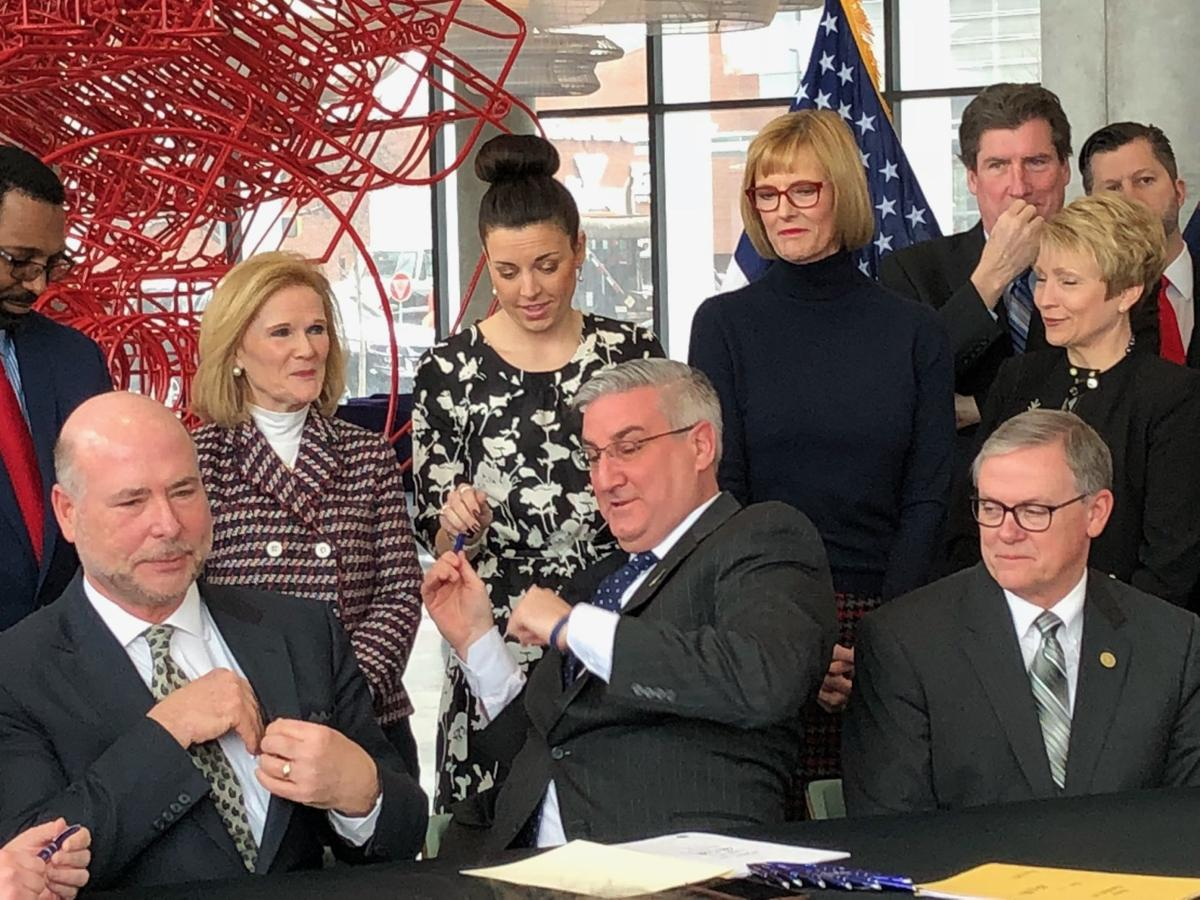 Governor signs laws intended to streamline and enhance urgency of Indiana workforce development programs