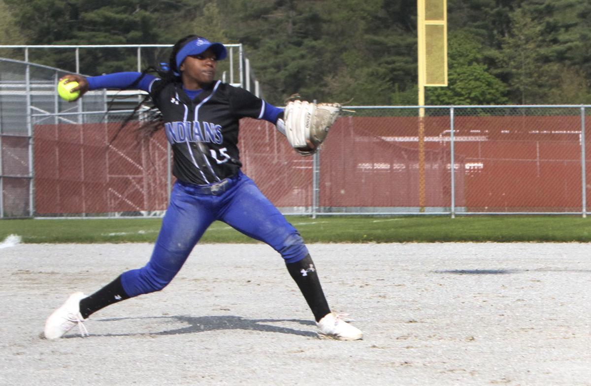 Lake Central softball Alexis Johnson