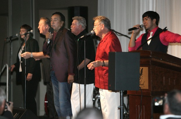 OFFBEAT: NWI Singing Group Harbor Lights Shares Stage With Smokey Robinson