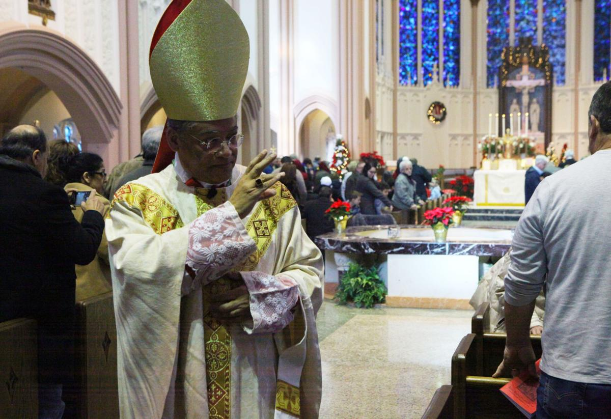 Pontifical Latin Mass at Cathedral of the Holy Angels