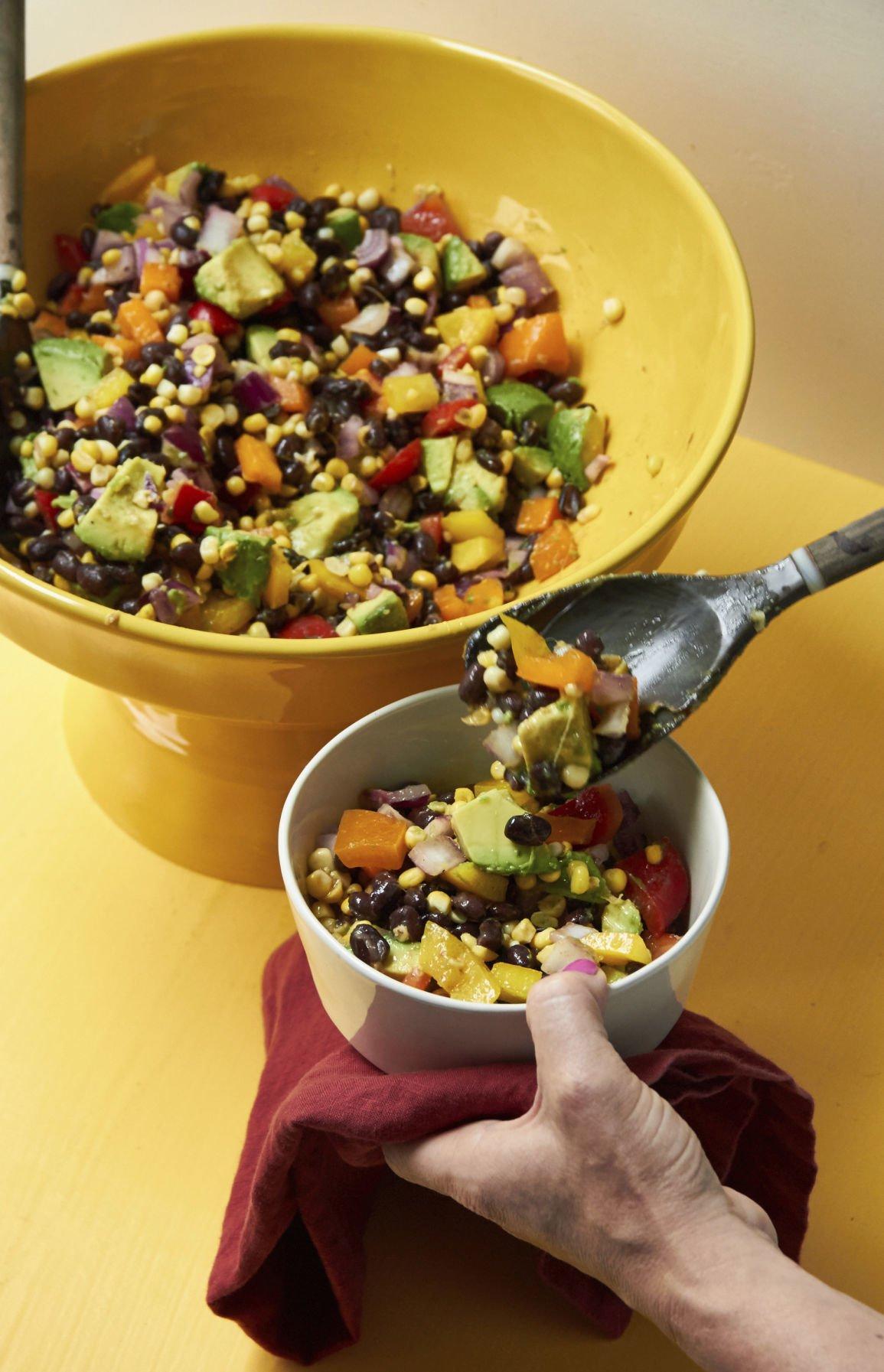 Food Column Deadline Southwestern Corn and Black Bean Salad