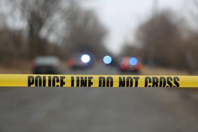 police crime scene stock generic
