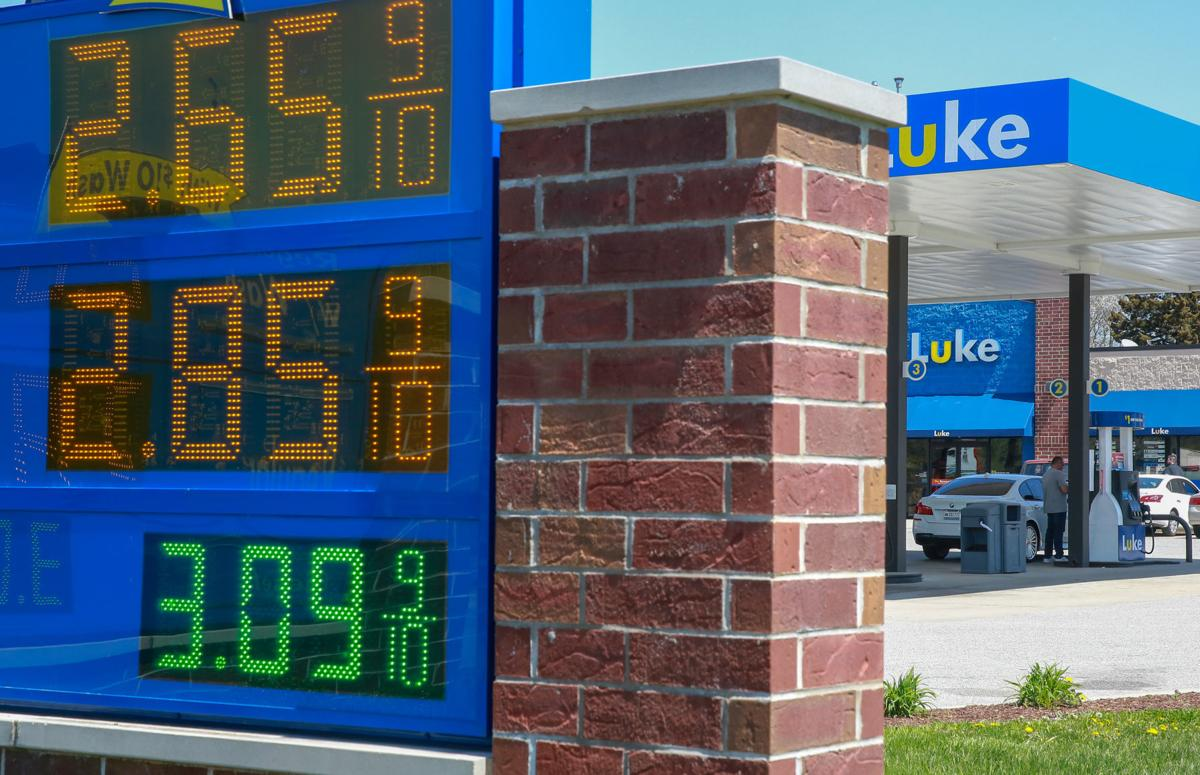 Gas prices in the region