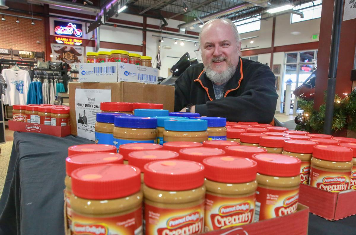 Food Bank on NW Indiana Peanut Butter Challenge