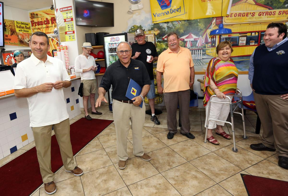 George's Gyros Spot inducted into Hot Dog Hall of Fame