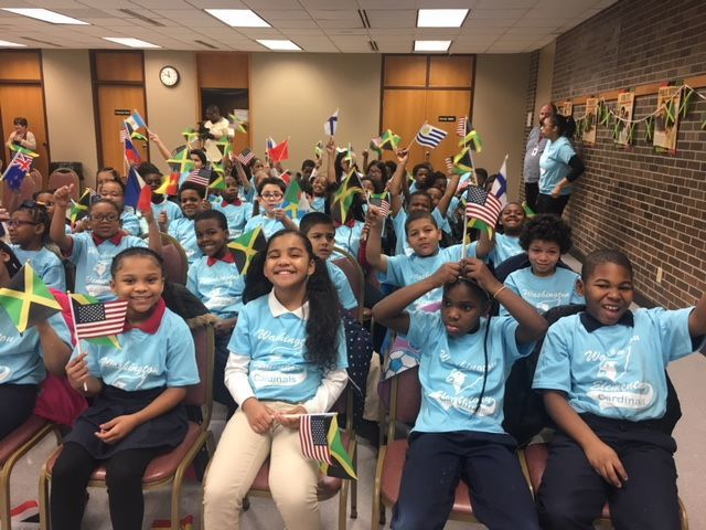 ONE Love program for second-graders at East Chicago Public Library