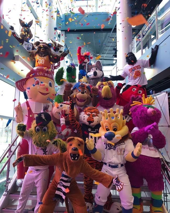 Mascot Hall of Fame celebrates National Mascot Day online