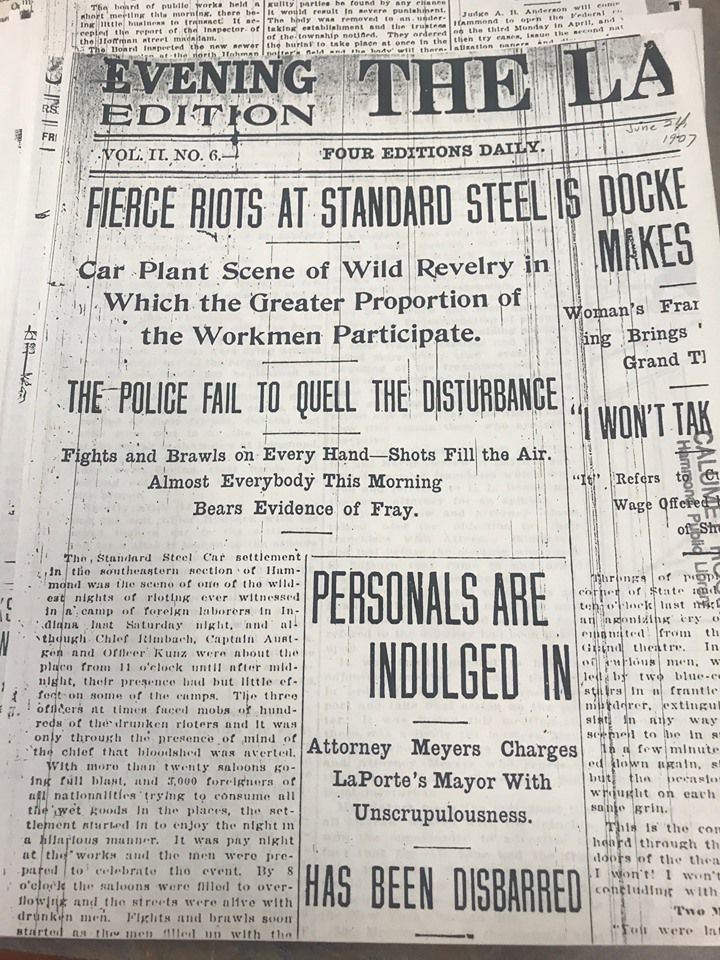 Hammond Historical Society to lay wreaths for Standard Steel Car Co