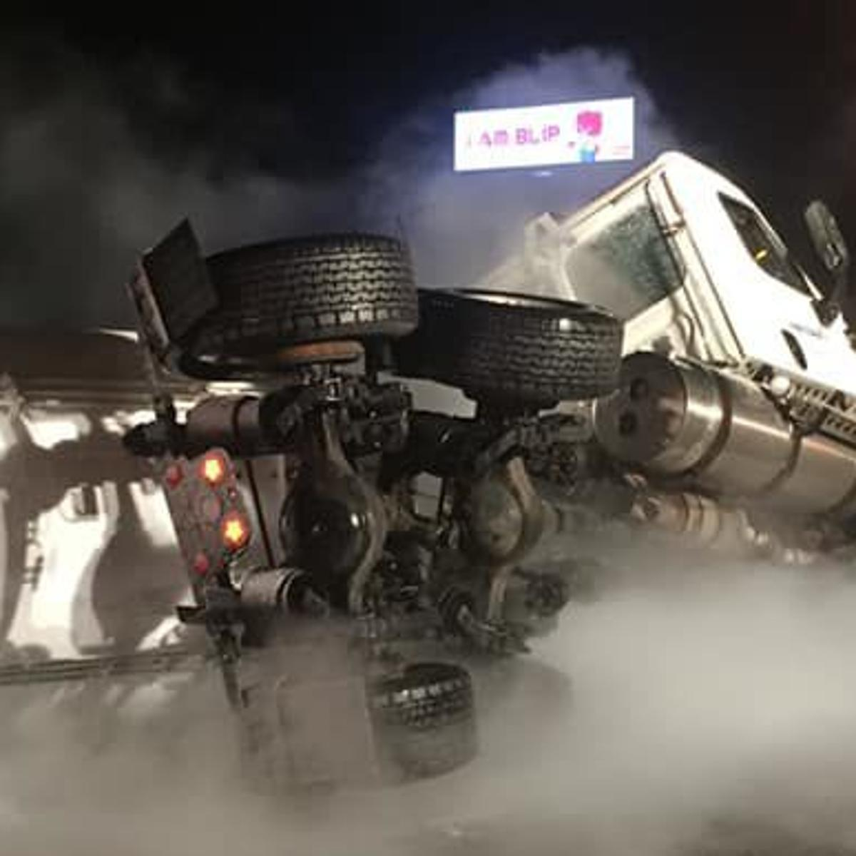 UPDATE: I-80/94 lanes expected to reopen soon after semi tanker