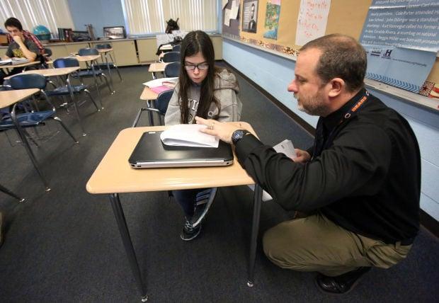 Jeff Swisher, Kouts High School, making the grade series