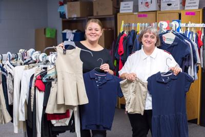Michigan City uniform exchange program provides fitting clothes for needy families as students head back to school