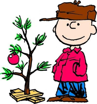 Charlie Brown and Christmas Tree by Charles M. Schulz