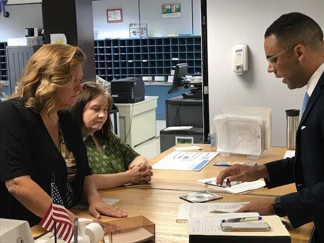 Lake County election officials receive a controversial precinct reduction plan