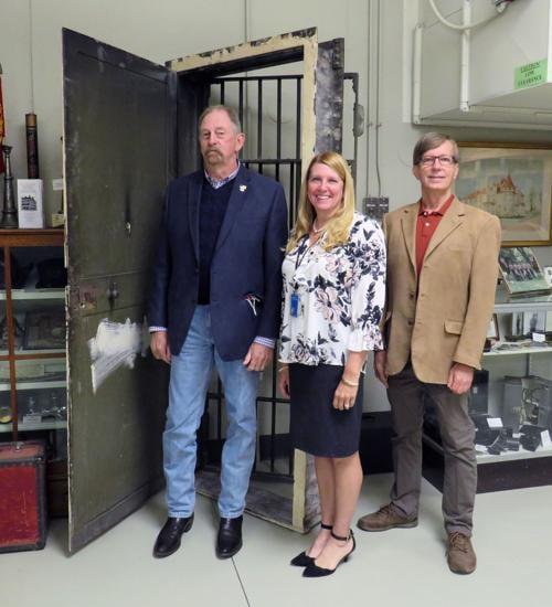 LaPorte County Historical Society Museum locks up Michigan City jail door