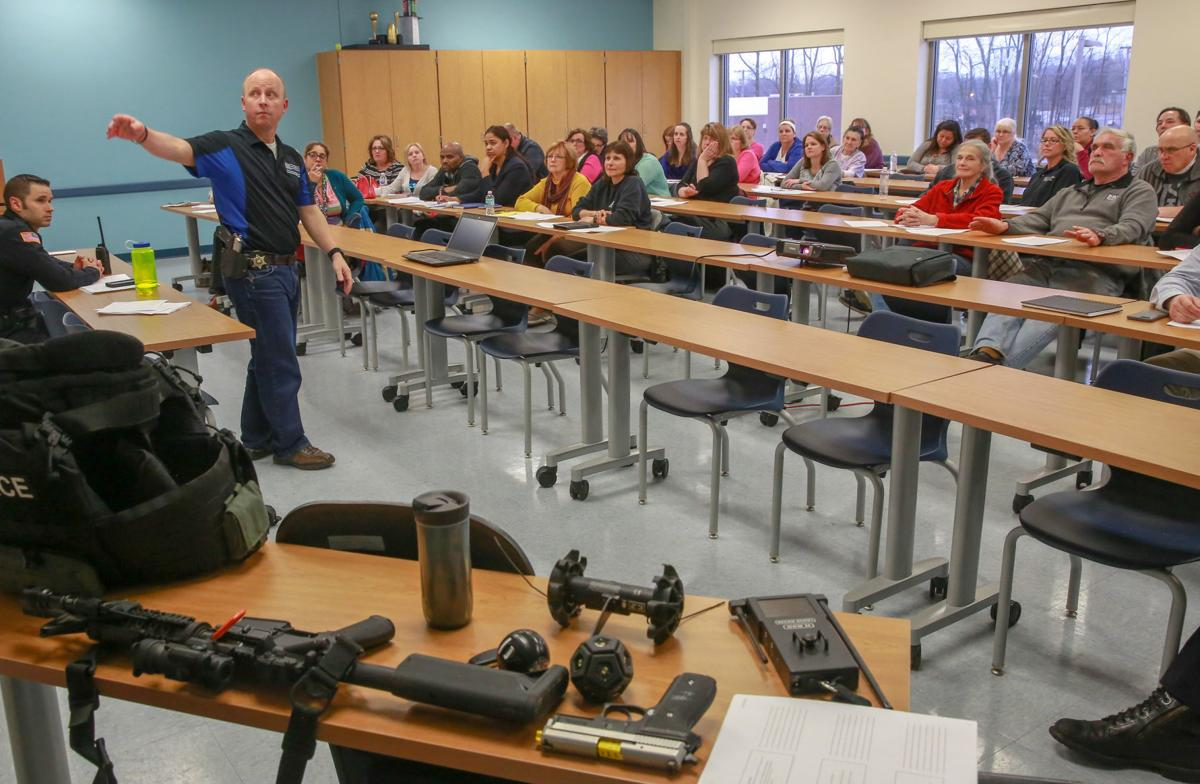 'What would you do if?': Teachers, school and office workers, others flocking to active shooter trainings