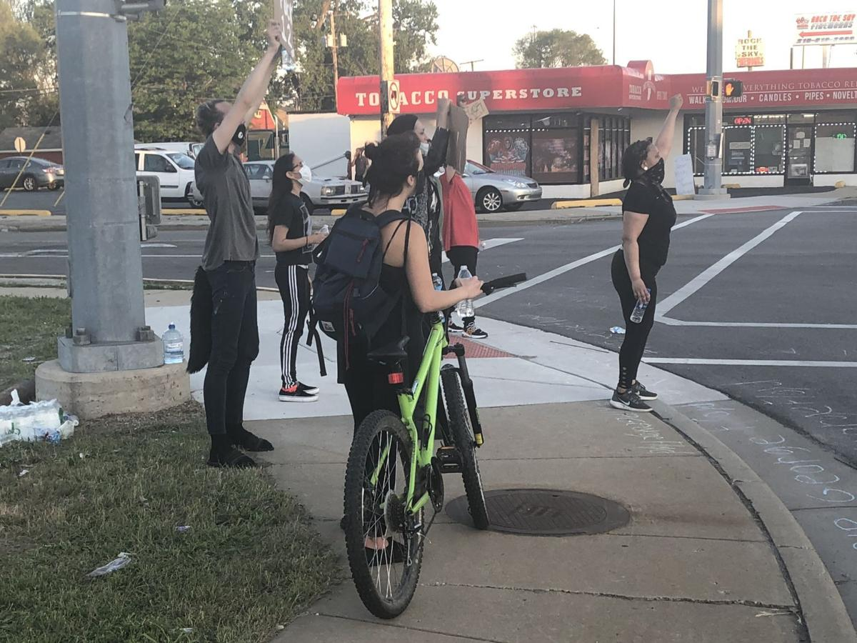 3 arrested during protests Tuesday, Hammond police say
