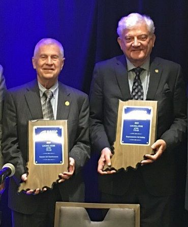 Region lawmakers honored for efforts to improve Indiana water systems