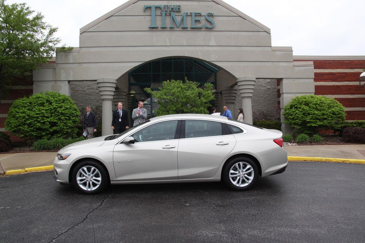 Win a brand new Chevy Malibu in annual sweepstakes