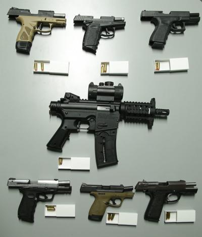 Times file photo firearms weapons guns stock art