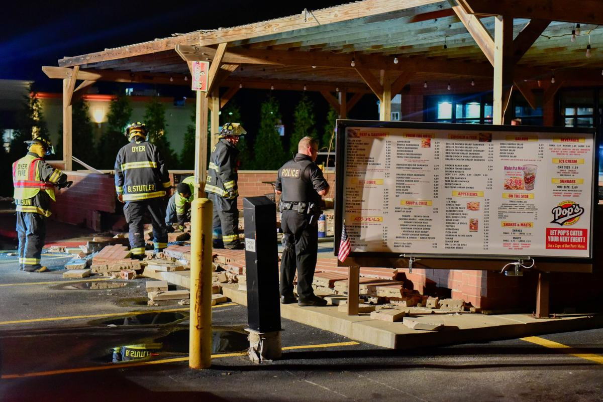 Police: Medical condition likely caused driver to hit Dyer restaurant