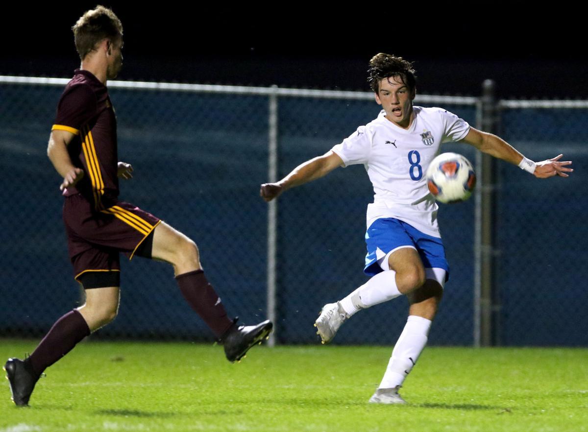 Chesterton at Lake Central boys soccer