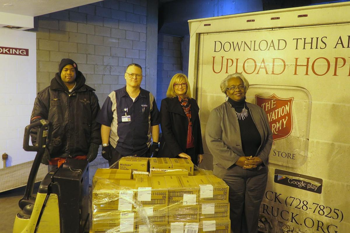 Methodist Hospitals Foundation donates supplies to the Northwest Indiana Salvation Army Adult Rehabilitation Center