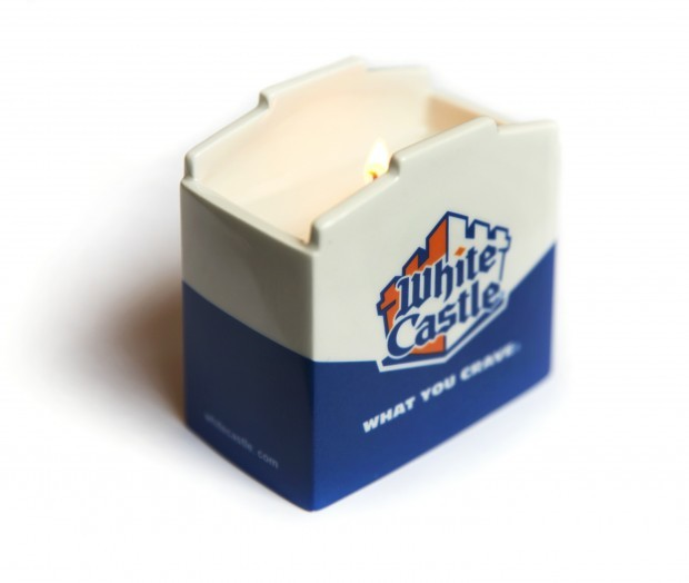 White Castle candle kosher for Hanukkah