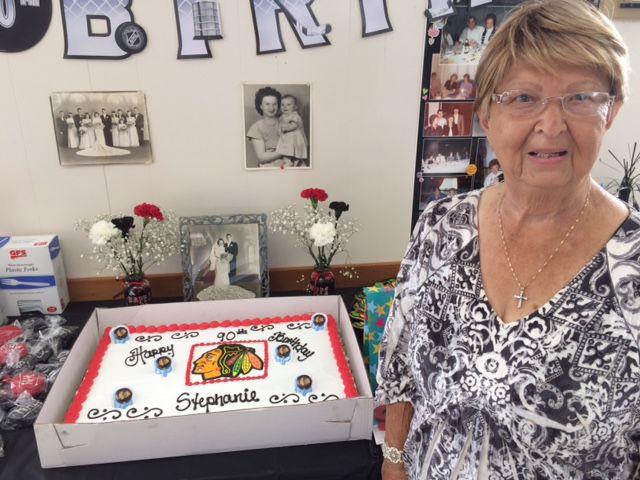 Happy 90th birthday to Stephanie Sickles