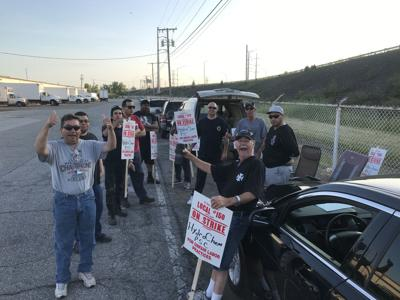 Refinery maintenance and utility workers go on strike in Hammond