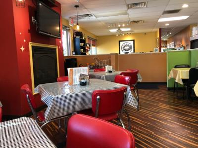 Interior of Foodie's
