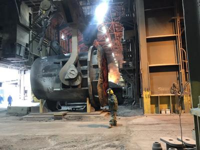 Great Lakes steel production drops by 9,000 tons