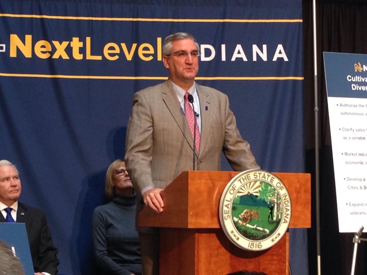 Holcomb wants Indiana education, workforce training directed by employer needs