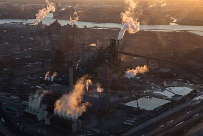 U.S. steel production rose 4.6 percent in February