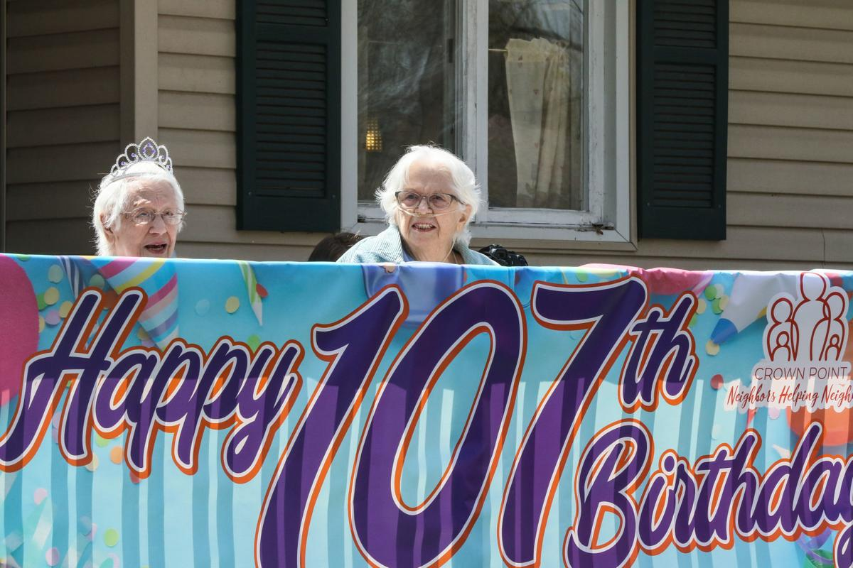 Mary Massey turns 107