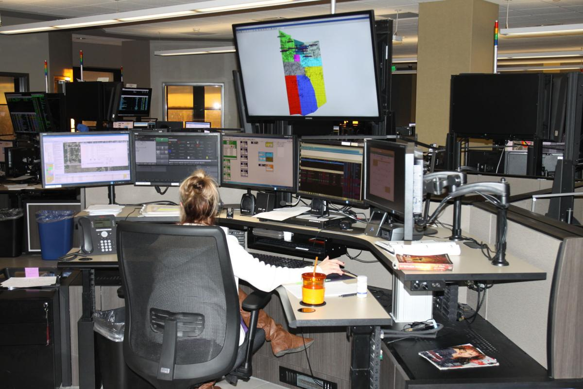 Lake County E-911 call center