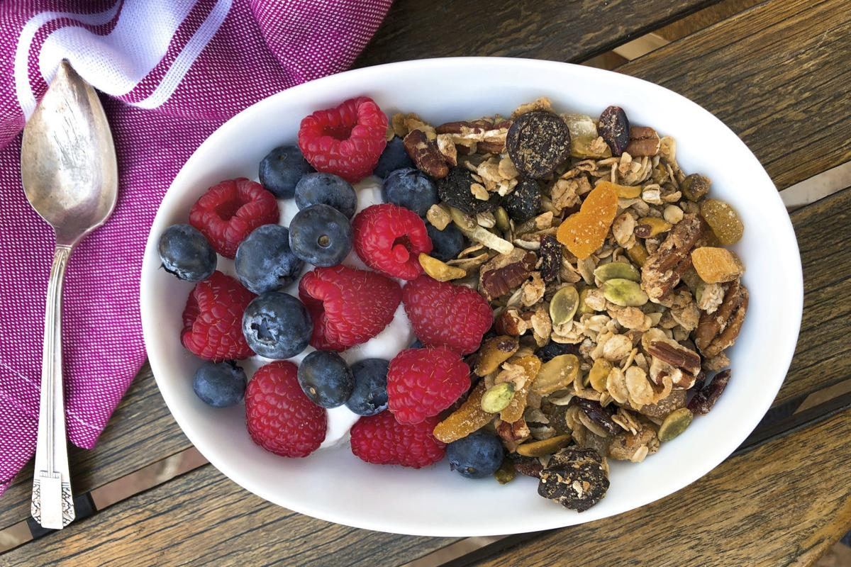 Food Column American Table Homemade Granola