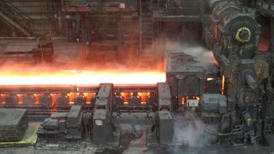 Steel production has risen by 4.3 percent in 2018
