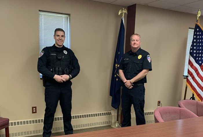 Crown Point officer sworn in virtually due to COVID-19 restrictions
