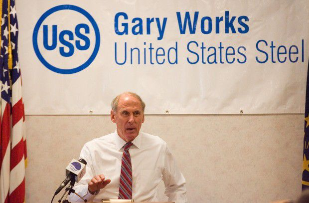 Coats praises U.S. Steel's commitment to NWI